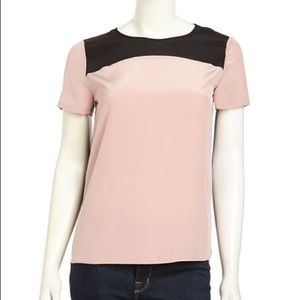 Diane Von Furstenberg Becky Colourblock Silk Top 6